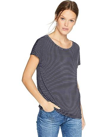feea5432a958a Daily Ritual Women s Jersey Short-Sleeve Boat Neck Shirt