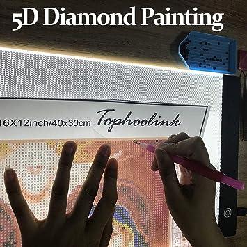 Diamond Painting a4 led Light pad Board Ultrathin dimmable Led Light Box  for Diamond Painting Adjustable bdeb06d85c3e