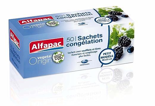 Alfapac - Bolsas de congelación biodegradables, pequeñas (4 ...