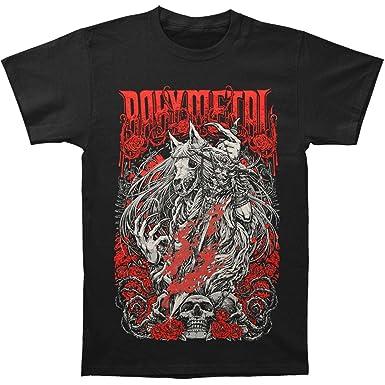 cfba7aad92e2 Amazon.com: Babymetal Men's Rose Wolf Slim Fit T-Shirt Small Black ...