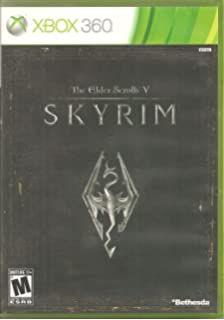 Amazon com: The Elder Scrolls V: Skyrim: Xbox 360: Bethesda
