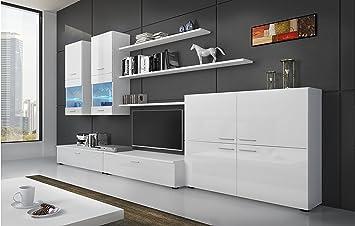 SelectionHome - Mueble Comedor Moderno, salón con Luces Leds ...