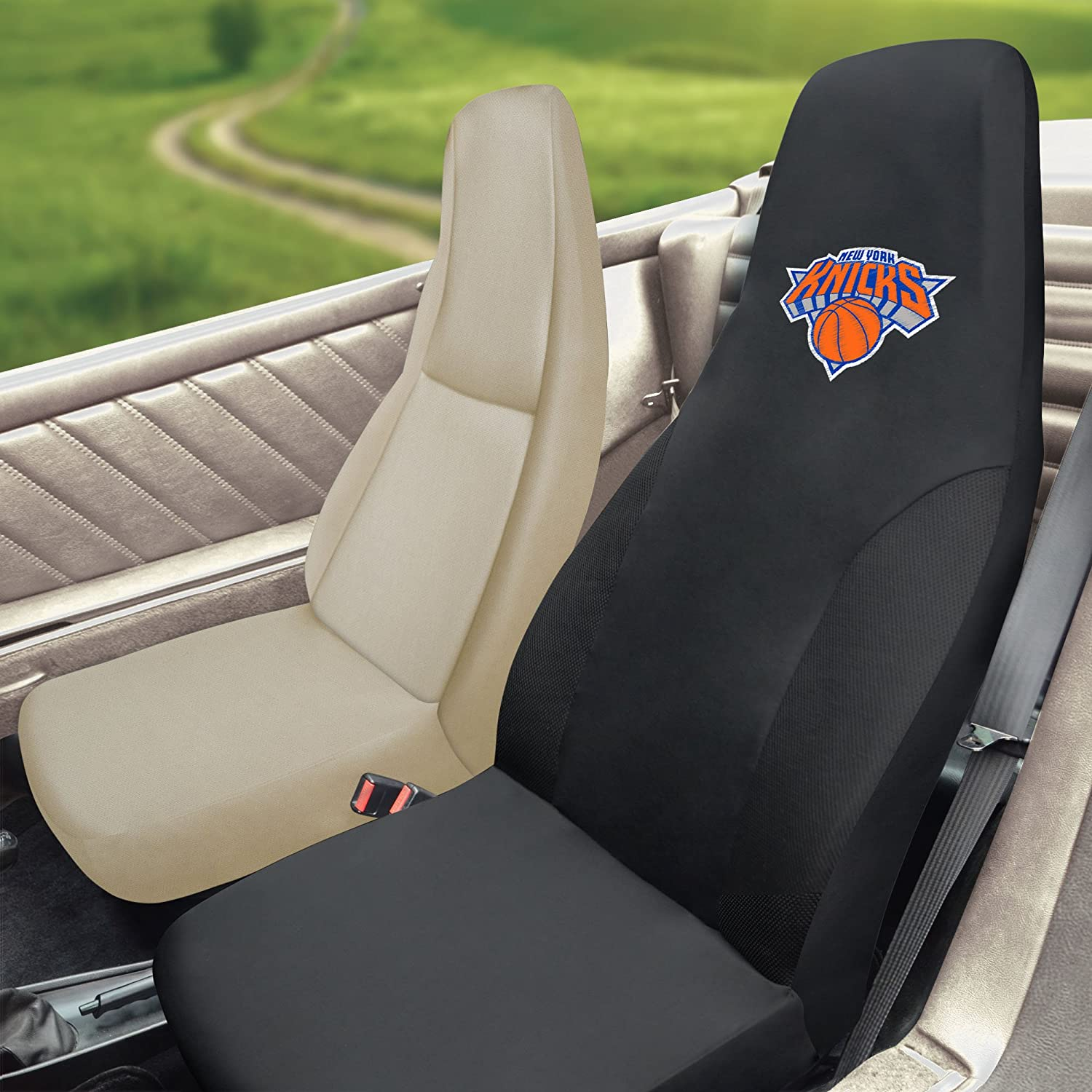 FANMATS NBA New York Knicks Polyester Seat Cover 15124