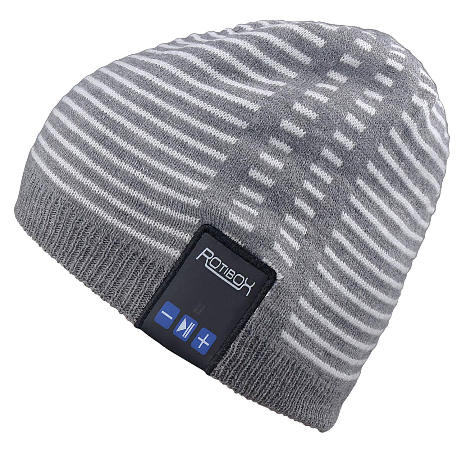 61a15cee827 Mydeal Winter Washable Bluetooth Music Beanie Warm Soft Knitted Trendy  Short Skully Hat Cap w  Wireless Headphone Headset Earphone Mic Hands Free  for ...