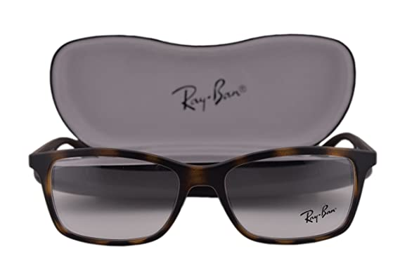 96c7d26f32 Ray Ban RX7047 Eyeglasses 54-17-140 Matte Havana 5573 RB7047  Amazon.co.uk   Clothing