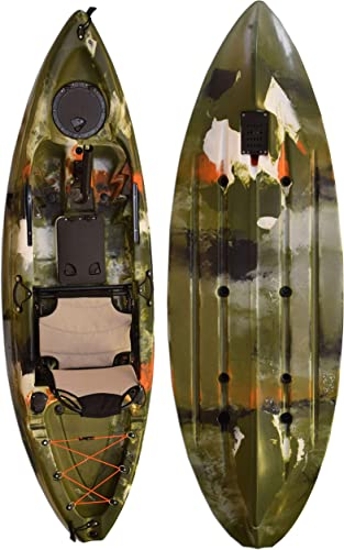 Vanhunks Manatee 9ft Single Fishing Kayak – Jungle Green