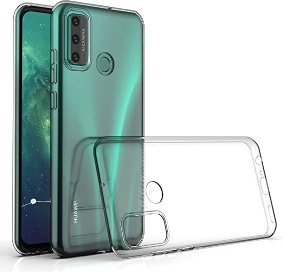 Clear NWNK13 For Huawei P Smart 2020 Phone Case Crystal Clear Slim Fit Heavy Duty Front Back Protective Case Built-in Screen Protector Full Body Mobile Phone Cover for P Smart 2020