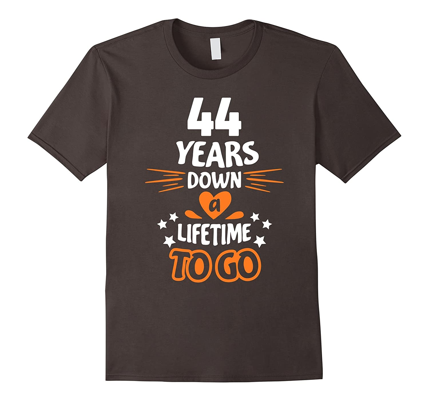 44th Wedding Anniversary Gift for Parents 44 Years T-Shirt