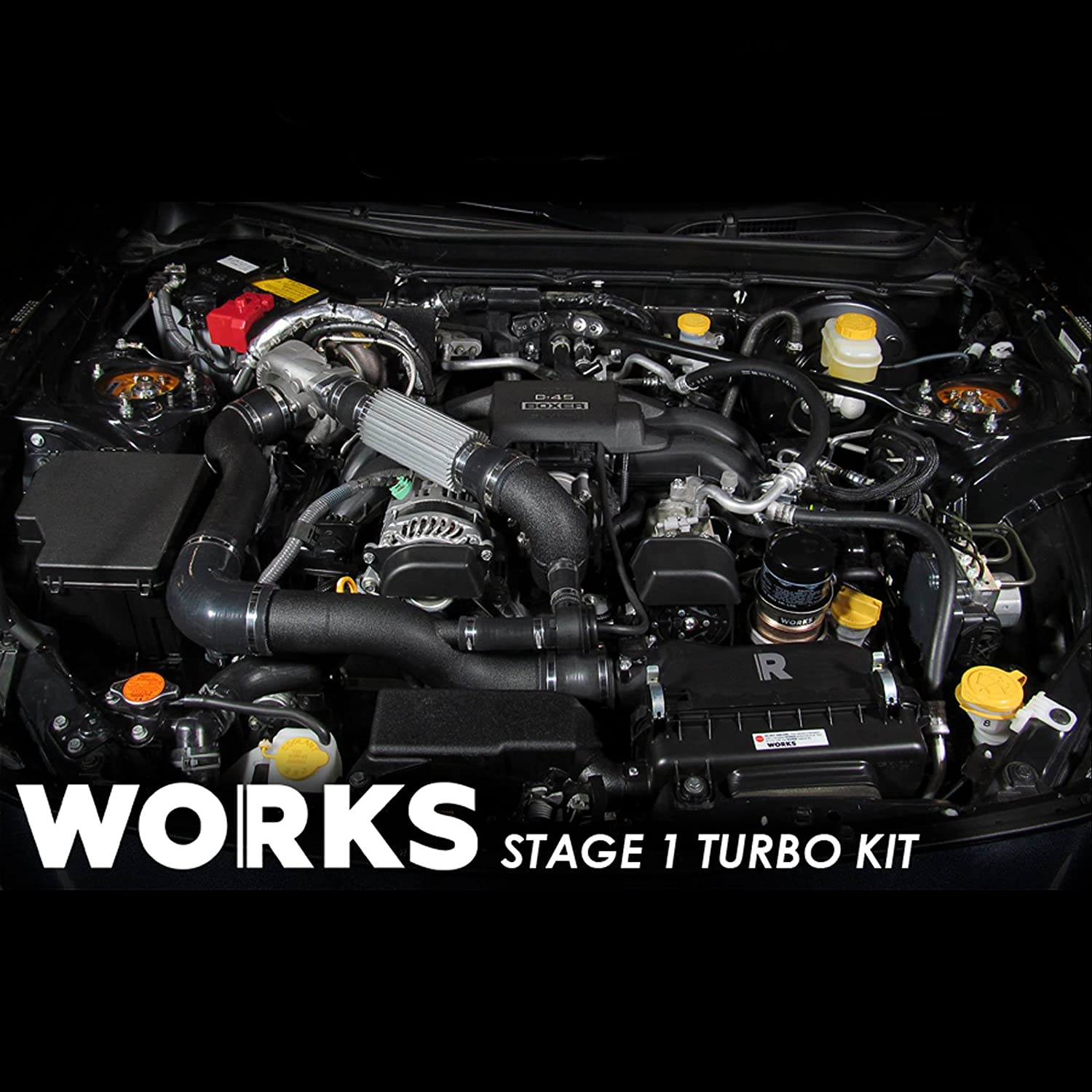 Amazon Works 142 211 Stage 1 Turbo Charger plete Kit with
