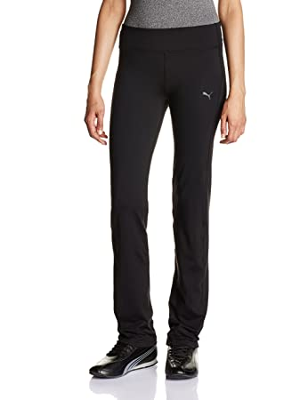 Puma Women's WT ESS Straight Leg Pants - Black, X-Smallmallmallmall/Small