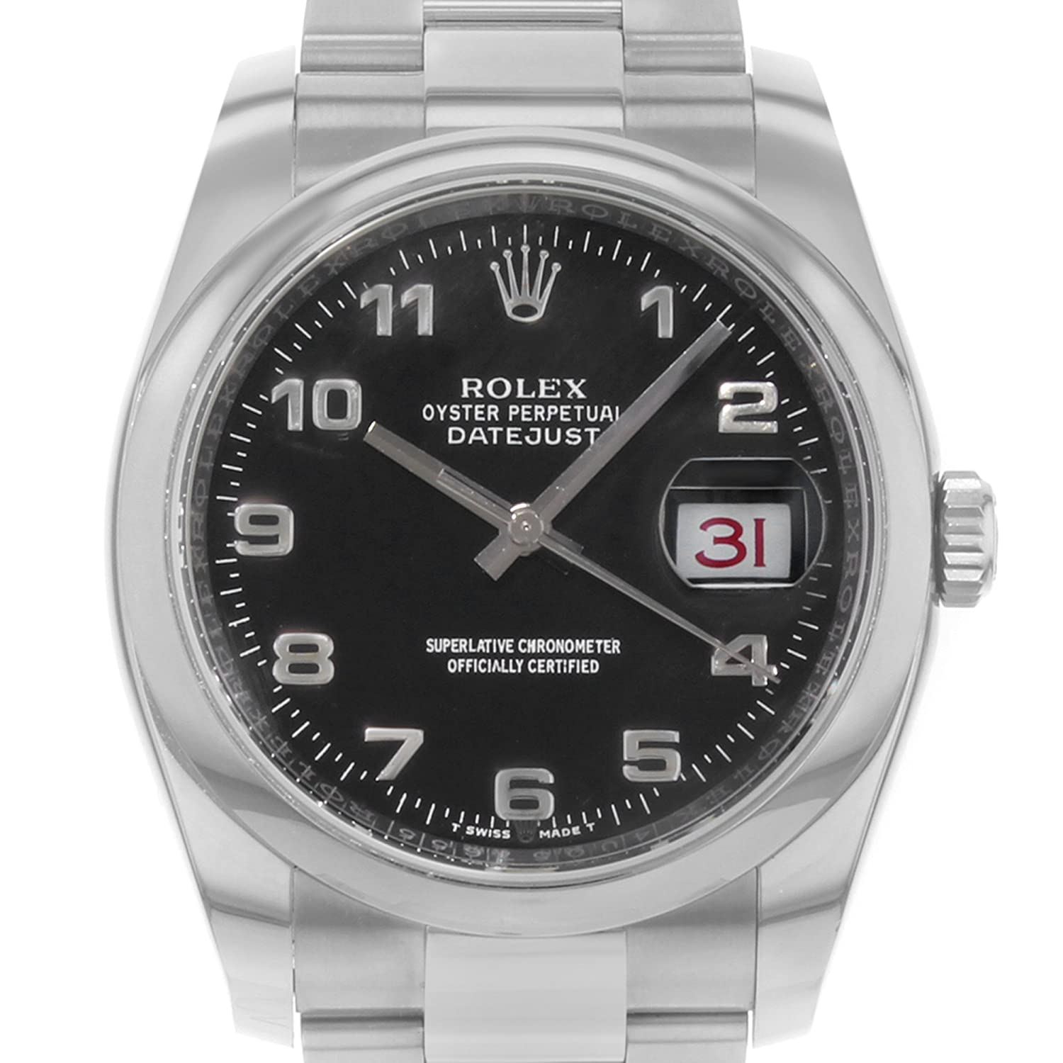 9711b883803 Amazon.com  Rolex Oyster Perpetual DateJust 116200  Rolex  Watches