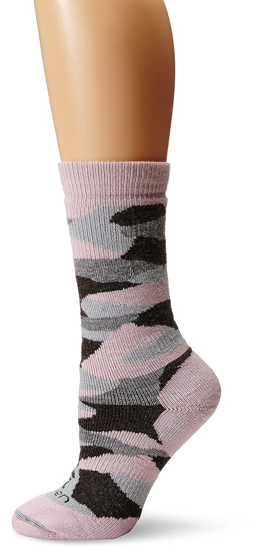 Lorpen Calcetines de caza mujer, mujer, color Pink/Black Camo, tamaño mediano: Amazon.es: Deportes y aire libre