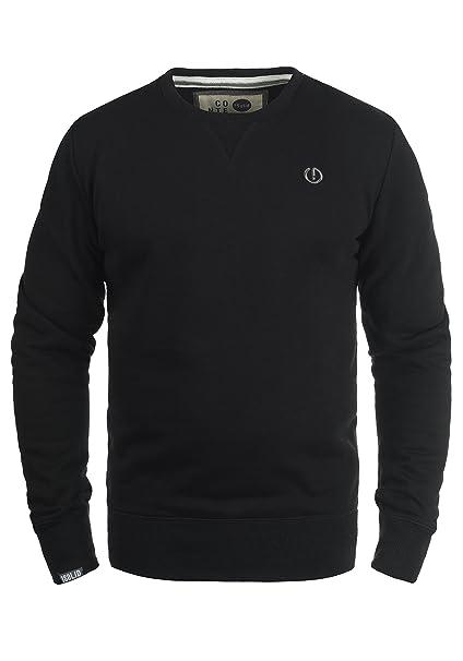 !Solid Benn Felpa Maglione Pullover Da Uomo Con Girocollo