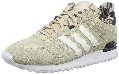 583a185497a17 adidas Women s ZX 700 Running Shoe Beige Size  9.5 UK  Amazon.co.uk ...