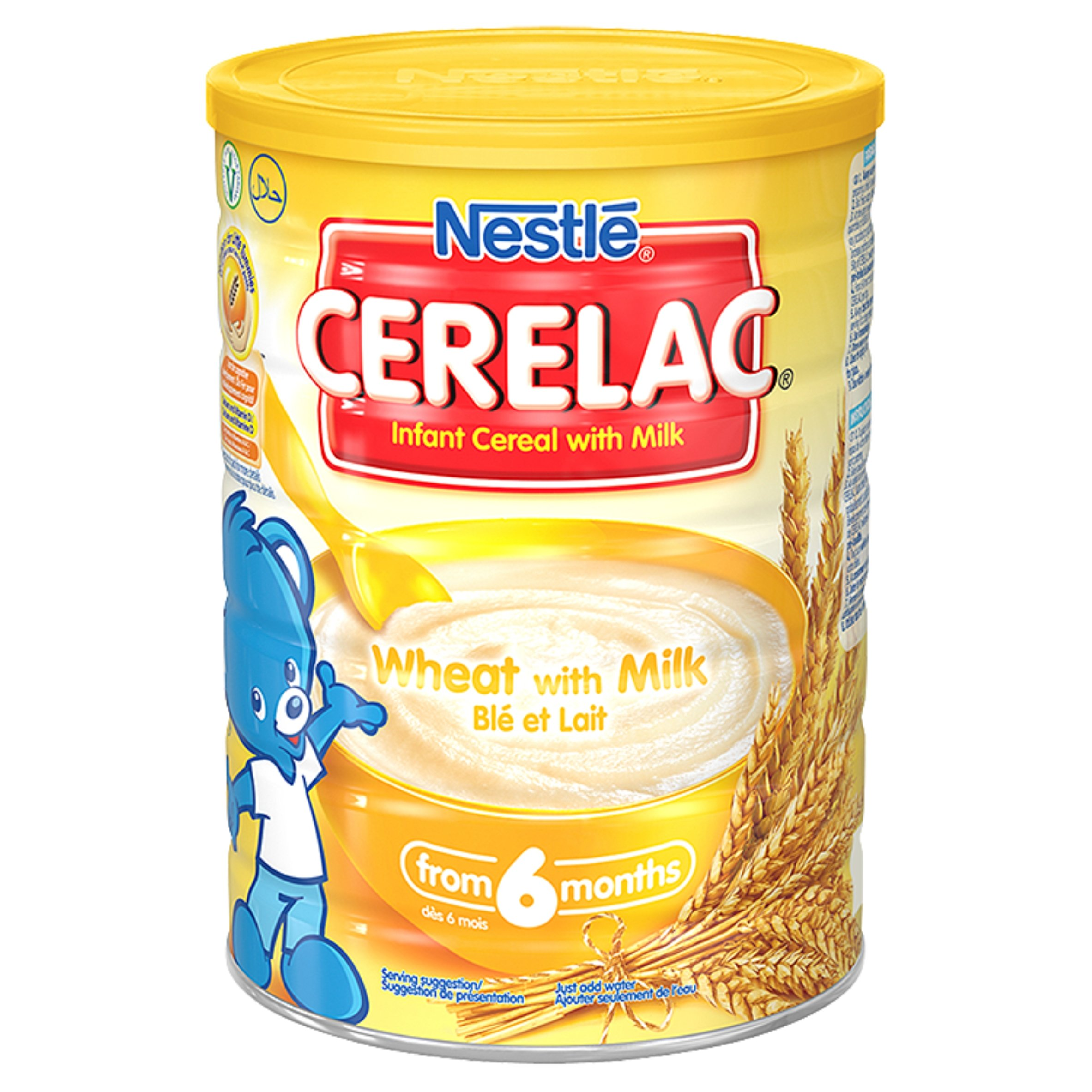 Nestle Cerelac Wheat With Milk Cereal, 14.10 Ounce: Amazon
