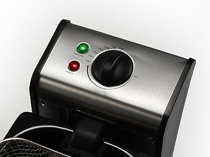 Tristar FR-6930 - Freidora con termostato regulable, 4 l: Amazon.es: Hogar