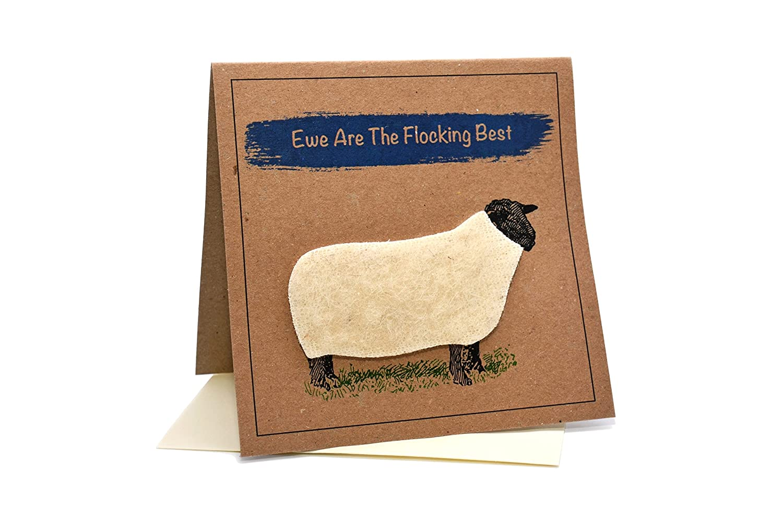 Greeting Birthday Card Sheep 30th Birthday//Blank Inside EWE/'S 30