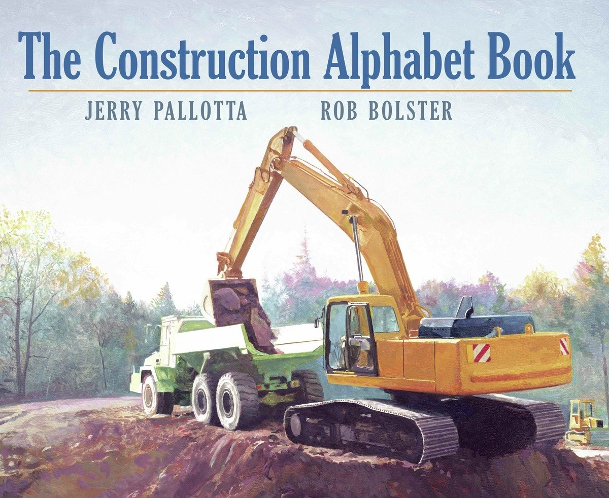Construction Alphabet Book Jerry Pallotta product image