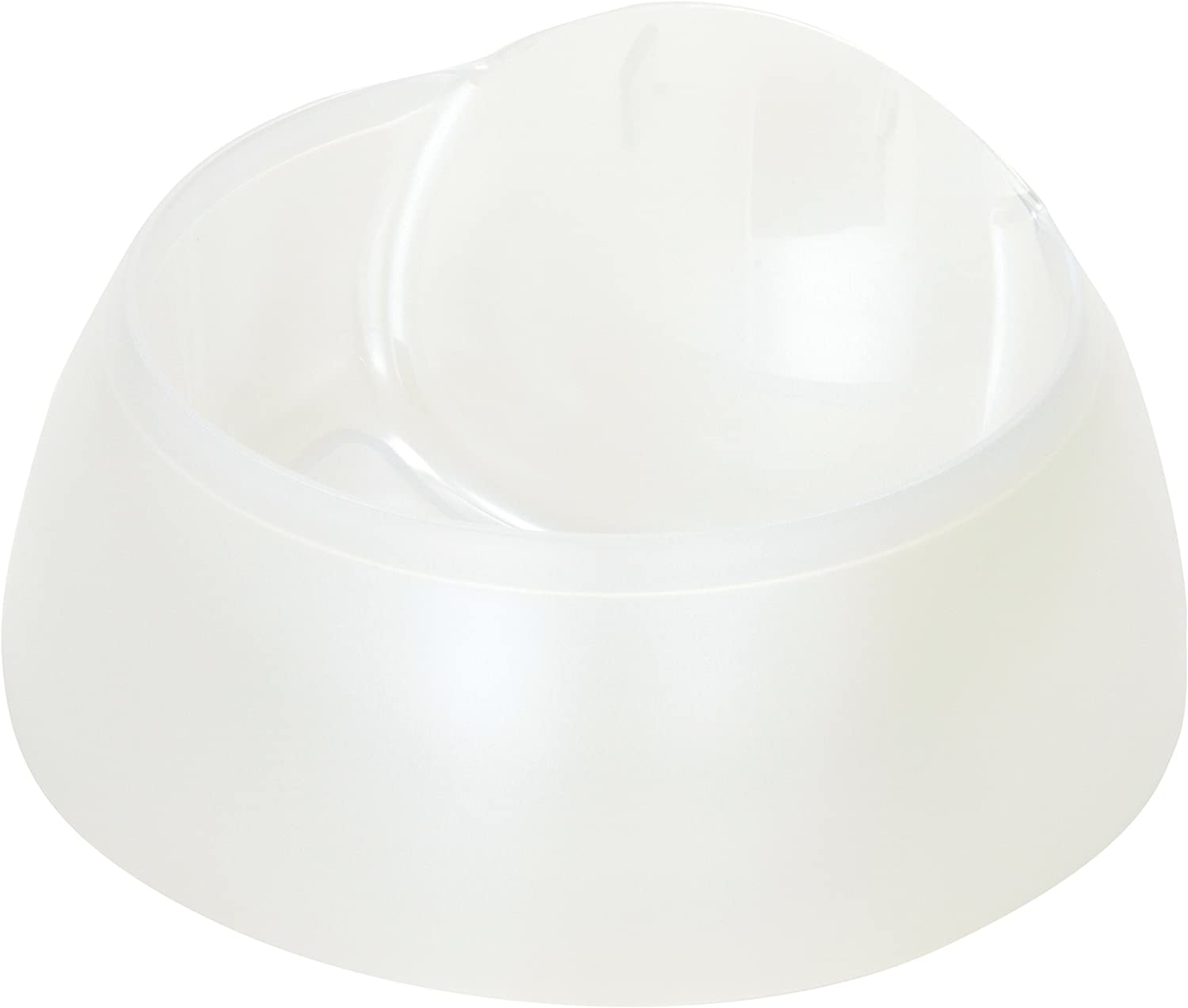 Catit Food Dish Replacement for Design Fresh and Clear Cat Drinking Fountain, White