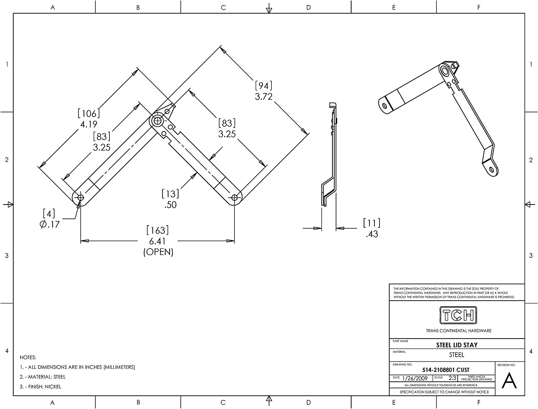 NATIONAL MFG//SPECTRUM BRANDS HHI N208-744 Corner Braces 4-Pack