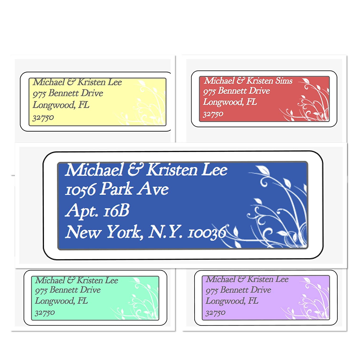 Amazon com personalized address labels cape cod watercolor labels