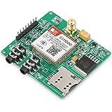 DROK® Modulo GPRS SIM800 GSM, Arduino GSM GPRS Sviluppo Board con auricolare Port, scheda di sviluppo STM32 con funzione di chiamata / Texting / Comunicazione GPRS, eccellente modulo adatto per insegnante / studente / Factory / Ventilatori elettronici