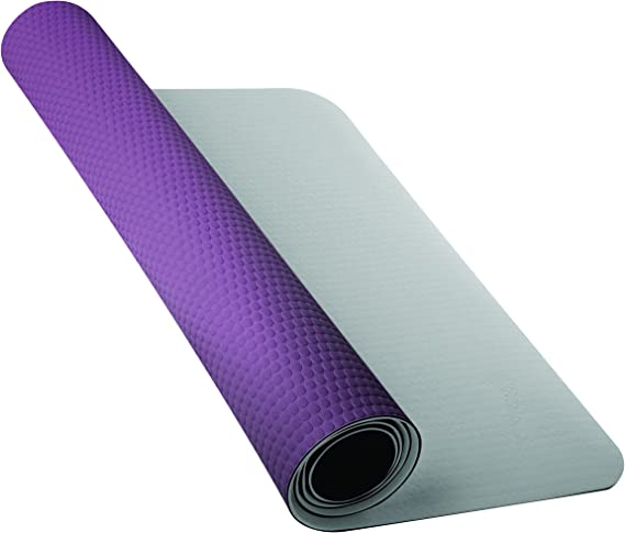 regla dramático sorpresa  Nike Fundamental Yoga Mat 3 mm Matte, Unisex, N.YE.02.159.OS, medium  grey/dark plum, One Size: Amazon.co.uk: Sports & Outdoors