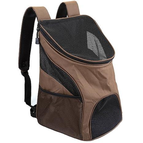 Mangostyle, bolsa para perros tipo mochila. cómodo para perros y gatos,