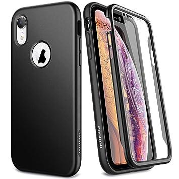 SURITCH Compatible con Funda Carcasa iPhone XR Silicona 360 Grados Marmol Verde Oro Rosa Bumper Flores Flexible TPU Delantera y Trasera Irrompible ...