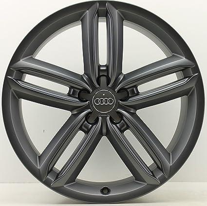 4 Original Audi A6 4 G C7 Allroad Llantas 4 g9601025b 8,5 x 20 ET43 Titanio Mate *: Amazon.es: Coche y moto