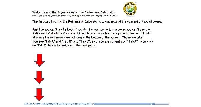 amazon com retirement calculator download software