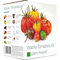 Plant Theatre Kit de Tomates Farfelues- 6 variétés insolites à cultiver soi-même - Idée cadeau