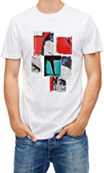 box21 T-Shirt Mandrago-Frame Unisex Bianca Stampa Digitale by Pop Capsule Collection
