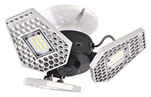 Striker Concepts 00342 TRiLIGHT 3000 Lm Screw-In Motion-Activated Ceiling Light
