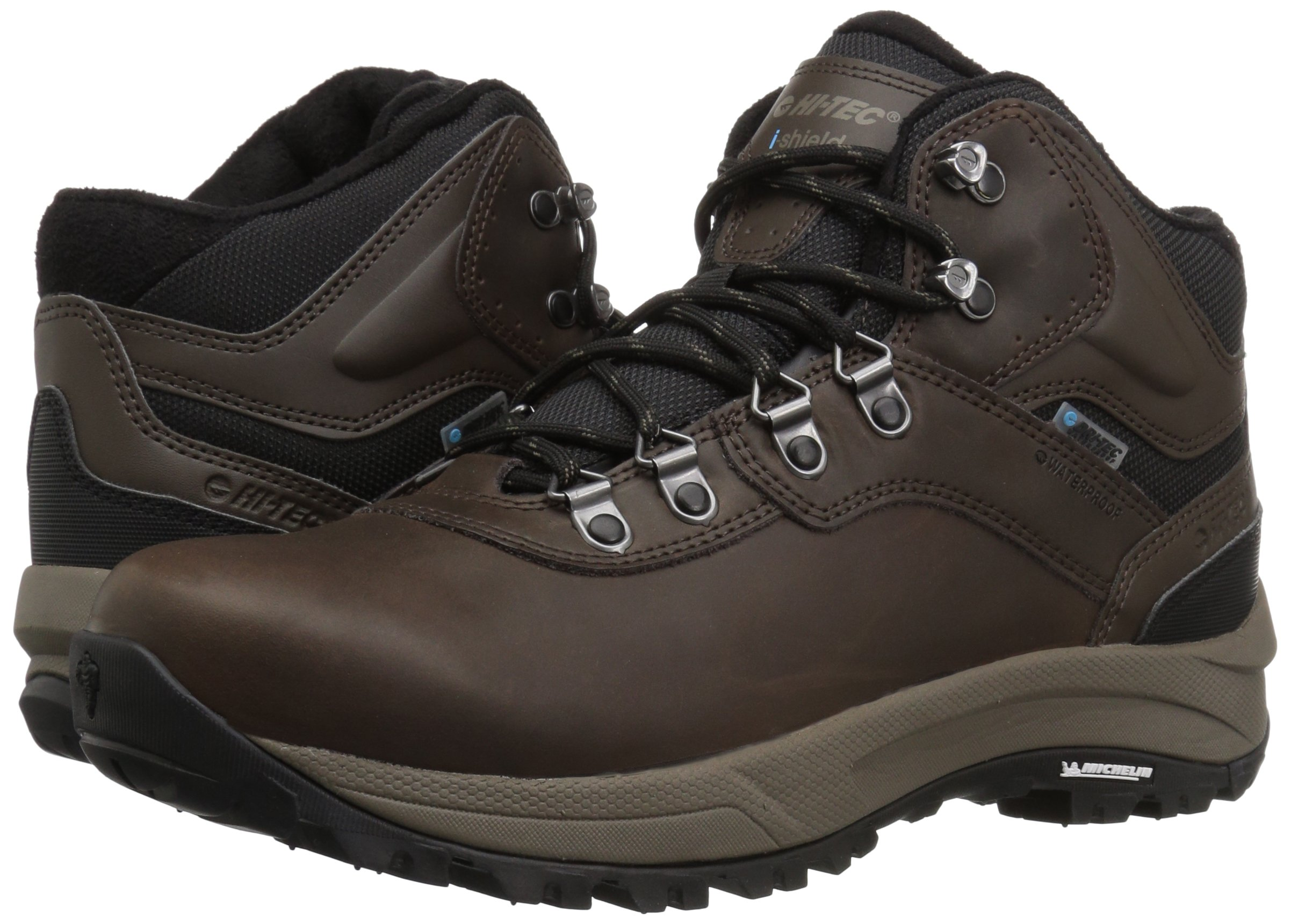 Hi-Tec Men's Altitude VI I Waterproof Hiking Boot, Dark Chocolate, 9.5 D US by Hi-Tec (Image #6)