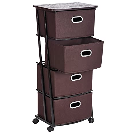 small storage design ideas wheels slim drawers home makeup tier cart on drawer