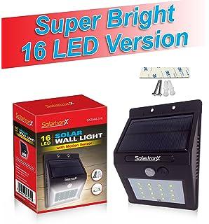 Amazon 10 led motion sensor solar light dusk to dawn security new model 16 led motion sensor solar light dusk to dawn security lighting for aloadofball Choice Image