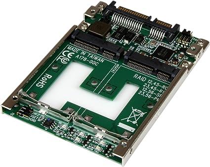 mSATA SSD Enclosure StarTech.com Dual mSATA Enclosure RAID USB 3.1