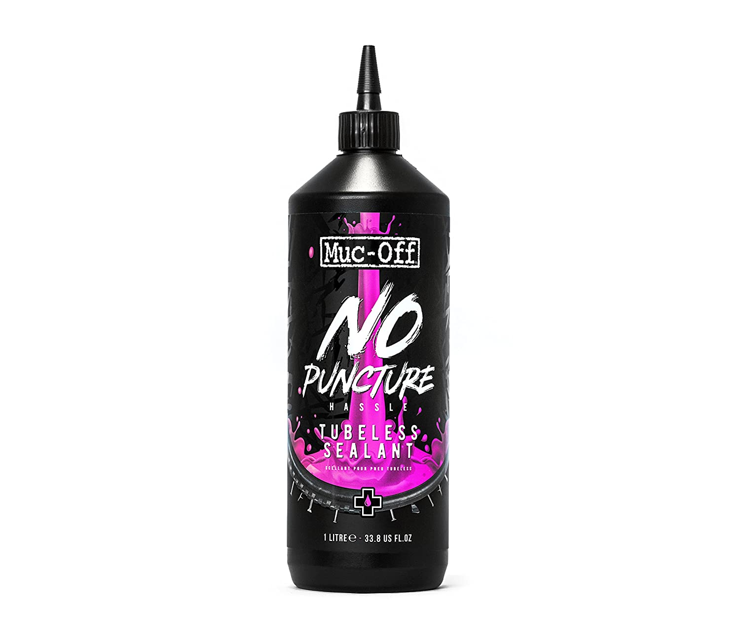 Muc-Off 822_Rose Pré ventif tubeless, 1 Litre MUCOV|#Muc-Off