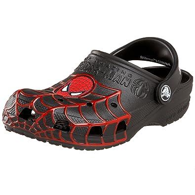 13f57bcc8bb6d5 Crocs Spiderman Molded Classic Kids Boys Footwear