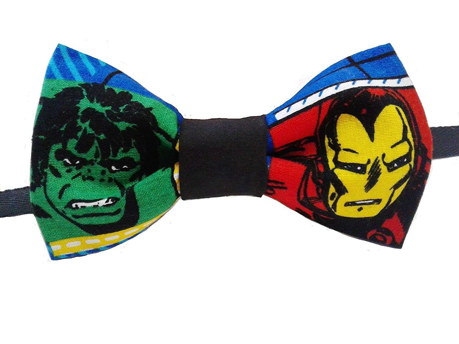 Incredible Hulk and Iron Man Bow Tie, Adult
