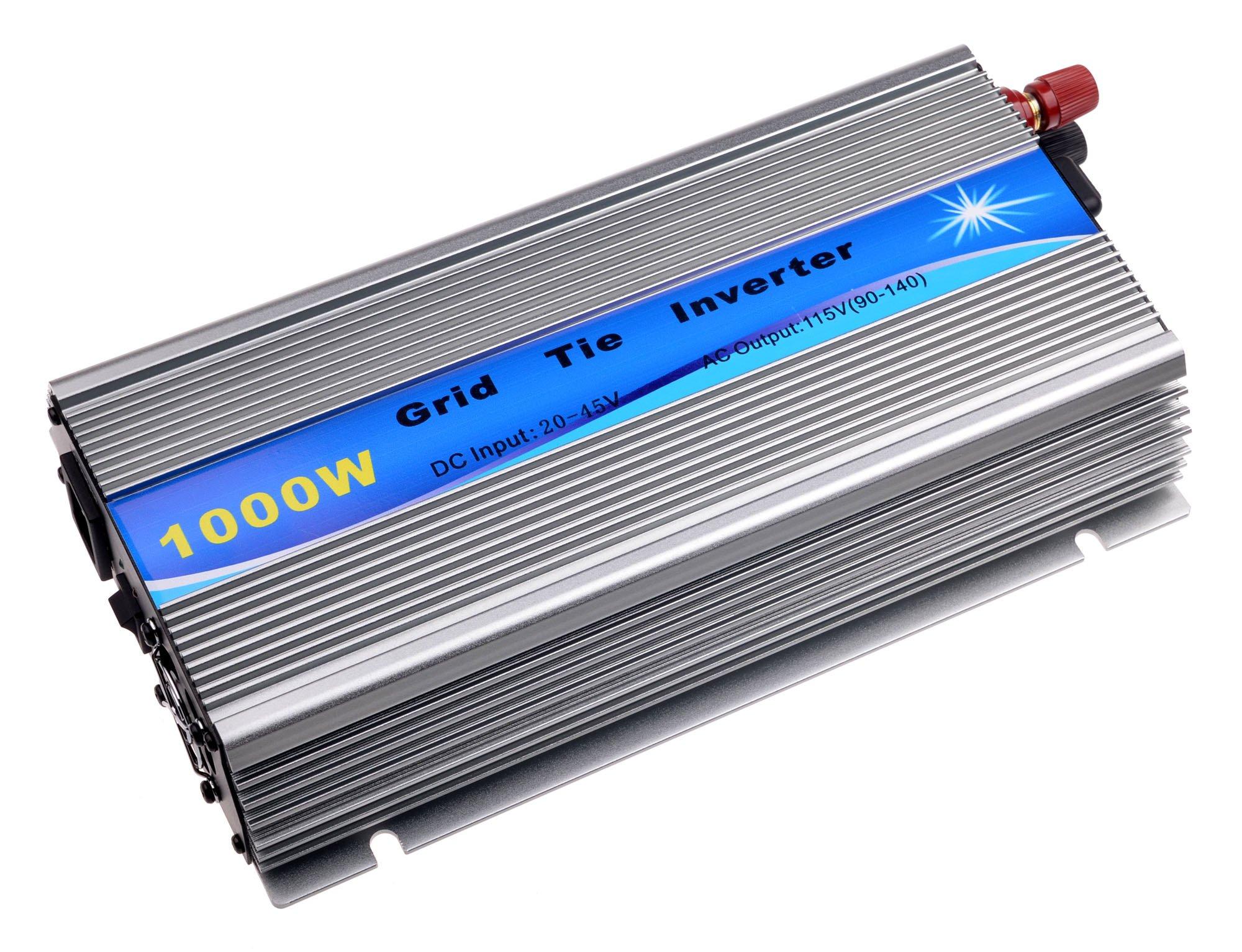 SolarEpic Grid Tie Inverter 1000w Stackable w/MPPT 20-45v Input 110v Output