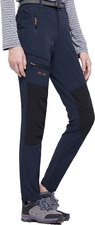 BenBoy Pantalon Montaña Mujer Secado Rápido Impermeable ...