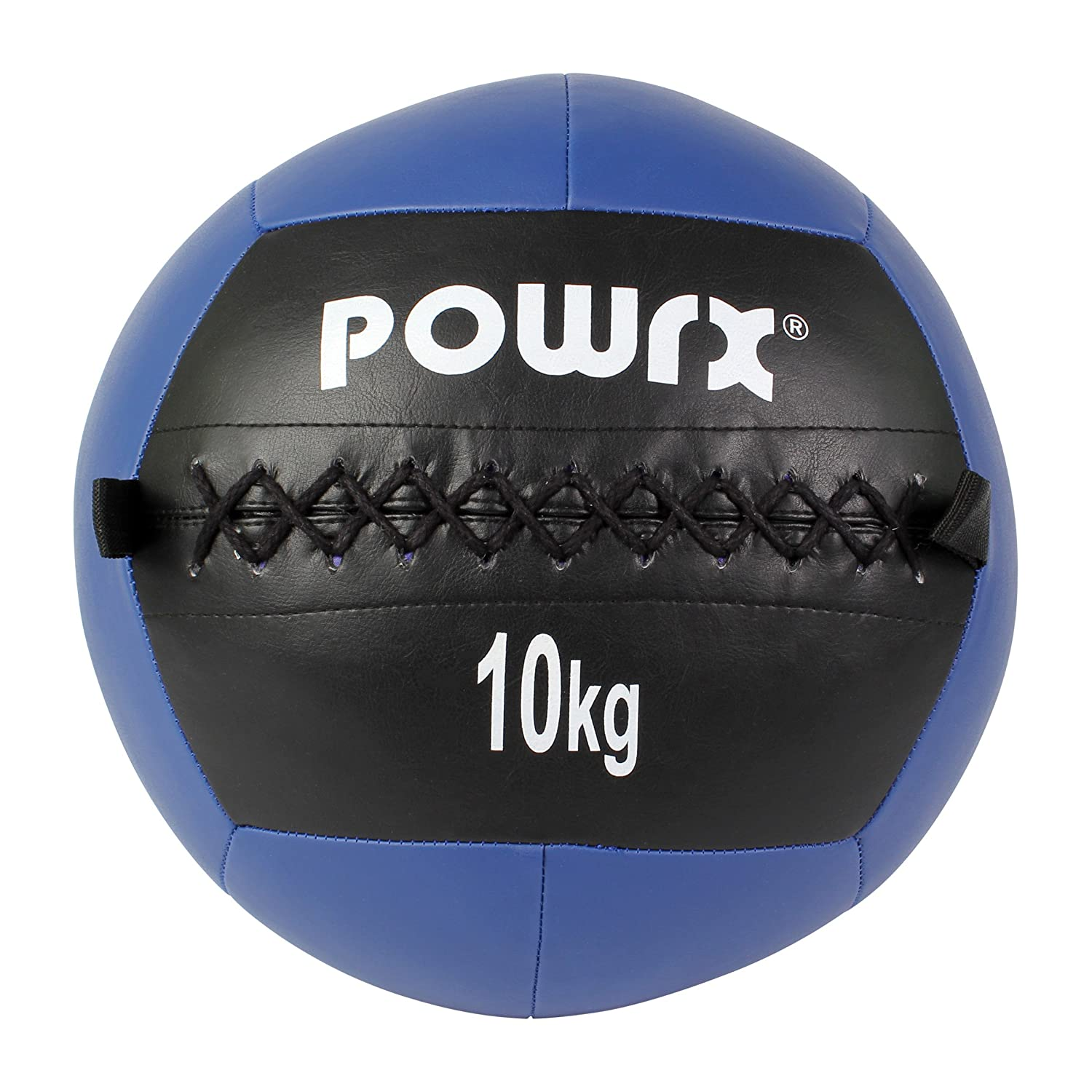 5792aafb4 Powrx Medicine Ball Wall Ball 2kg-10kg (10kg  Dark Blue)  Amazon.co.uk   Sports   Outdoors