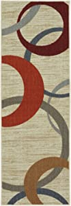 Mohawk Home Soho Picturale Rainbow Rug, 1'8x5'