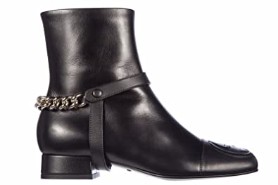 483bc3871d0 Image Unavailable. Image not available for. Color  Gucci Women s Leather  Ankle Boots Booties ...