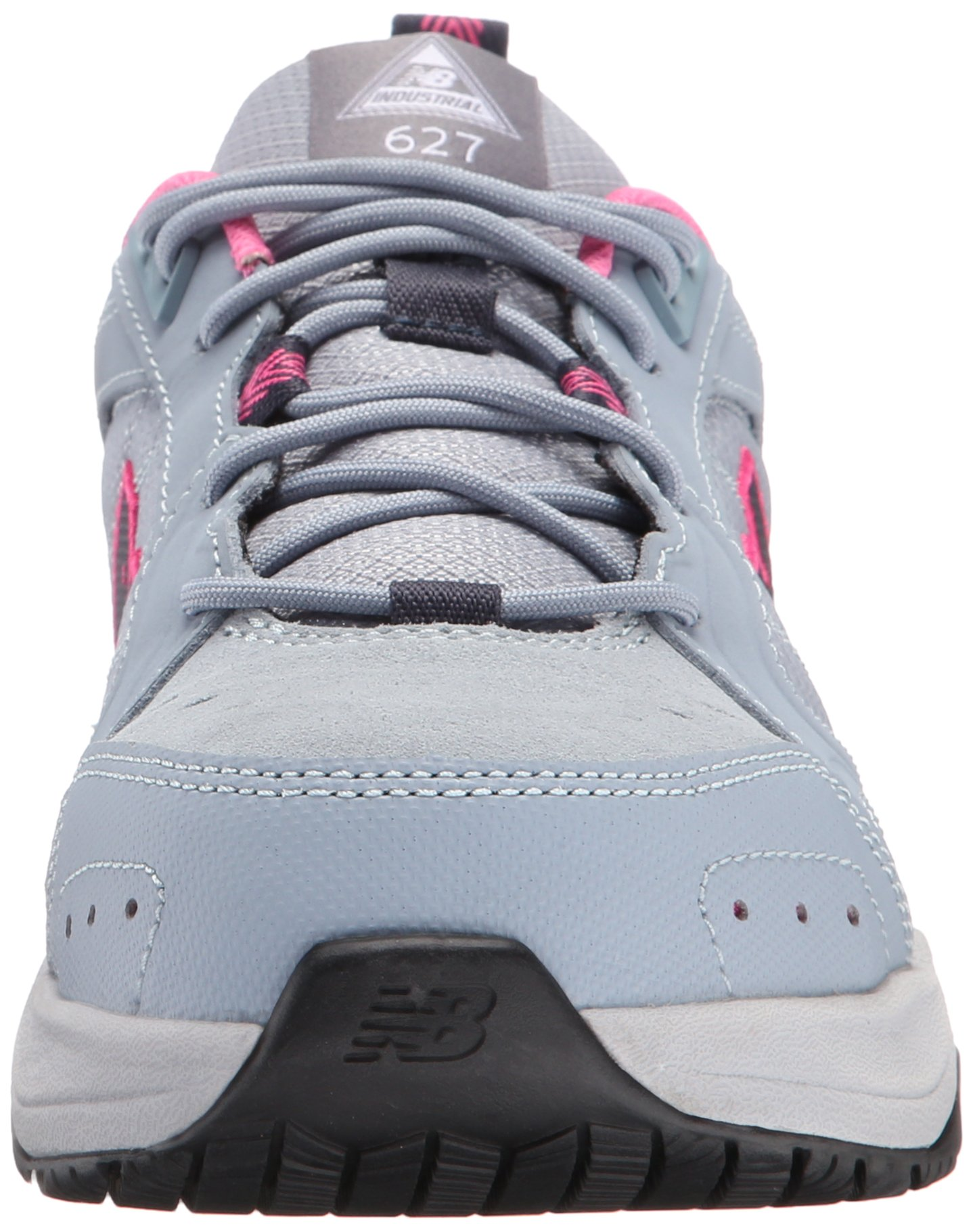 New Balance Women's WID627V1 Steel Toe Training Work Shoe,Light Grey/Pink,8 B US by New Balance (Image #4)