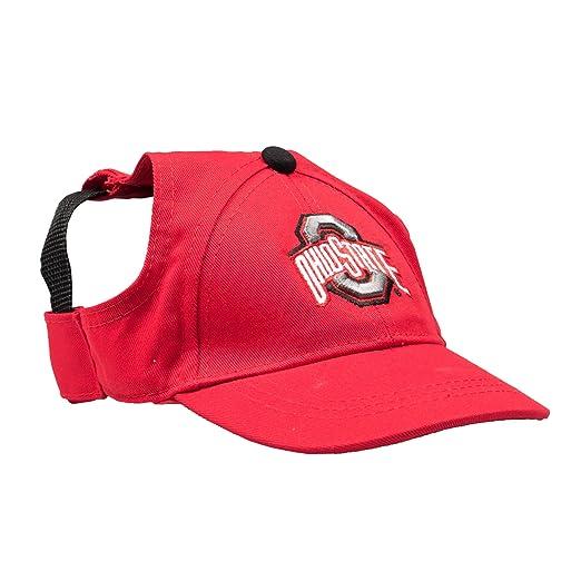 Amazon Com Ncaa Ohio State Buckeyes Pet Baseball Hat
