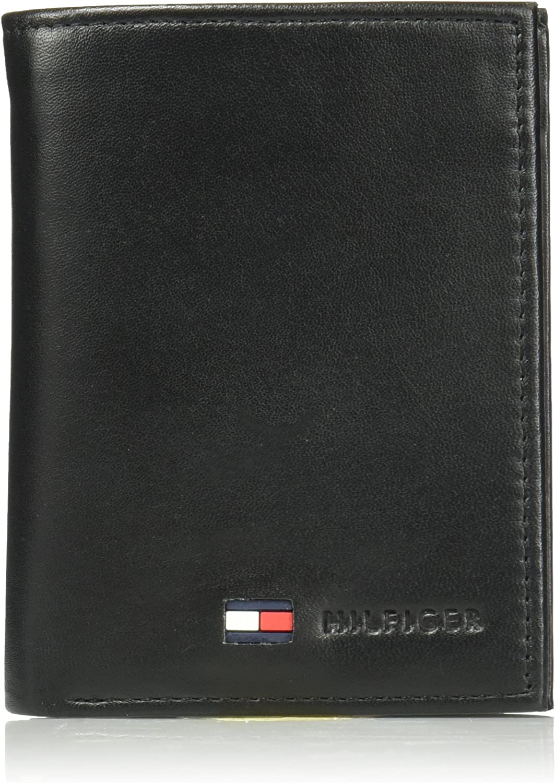 Tommy Hilfiger tarjeta de Crédito Organizador Billetera De Piel Para Hombre