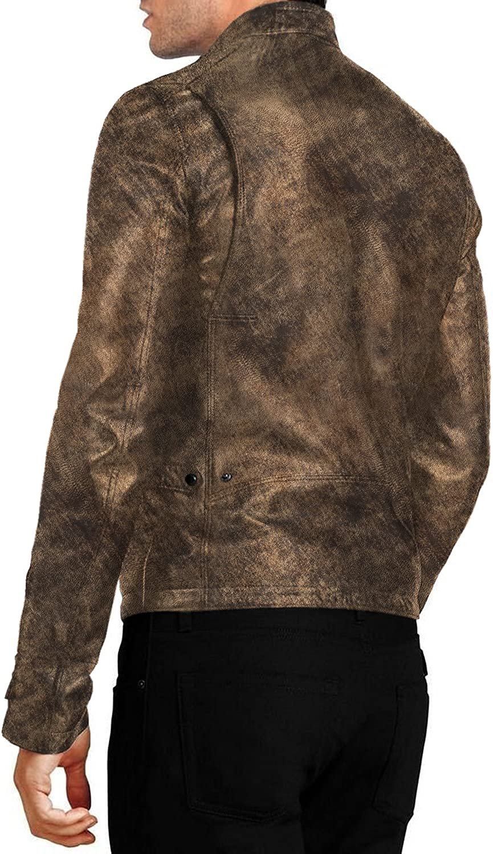 Black, Racer Jacket Laverapelle Mens Genuine Lambskin Leather Jacket 1501048